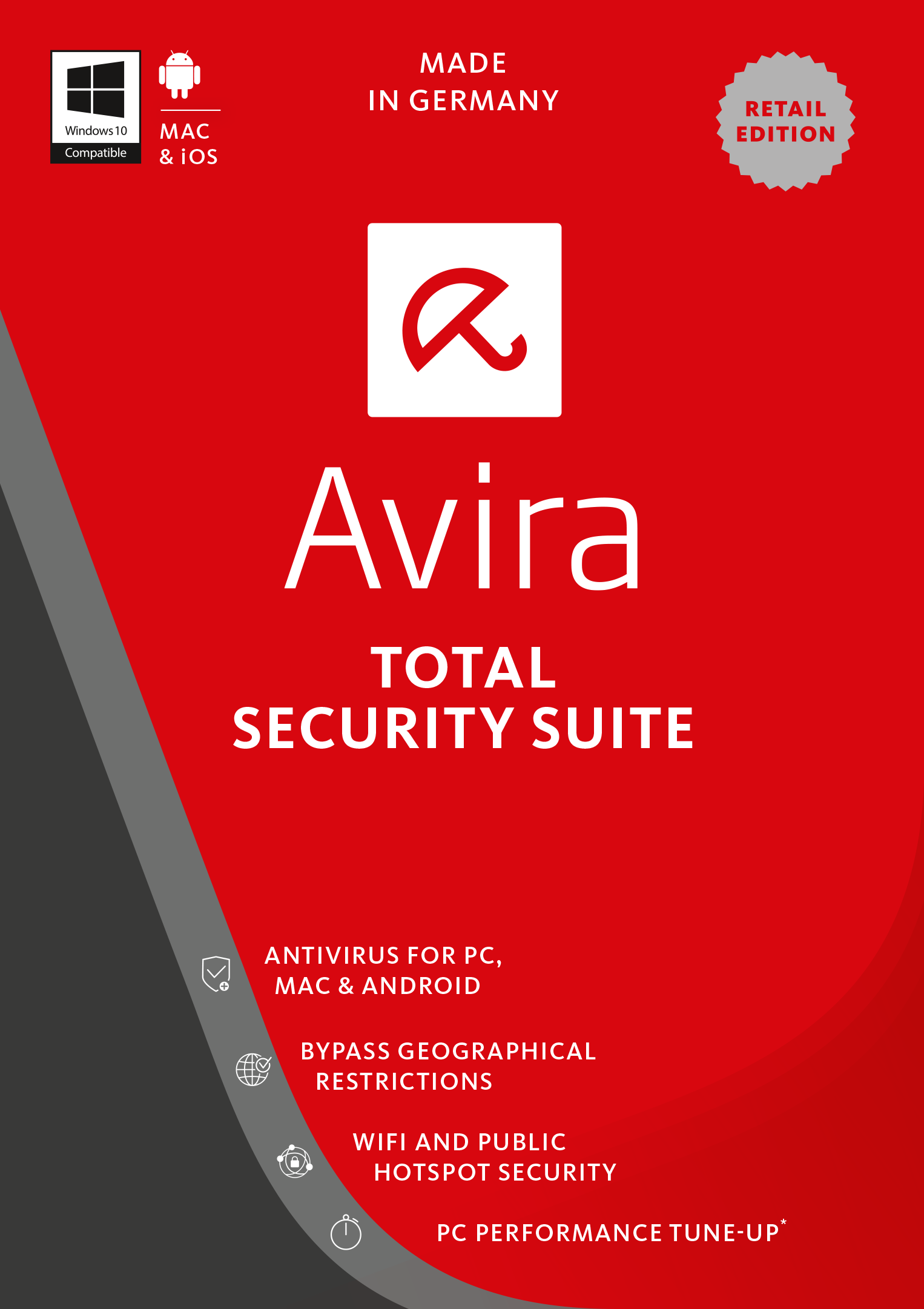 Avira Total Security Suite 2017 3 Device 1 Year Download Antivirus Mcafee Internet Online Code