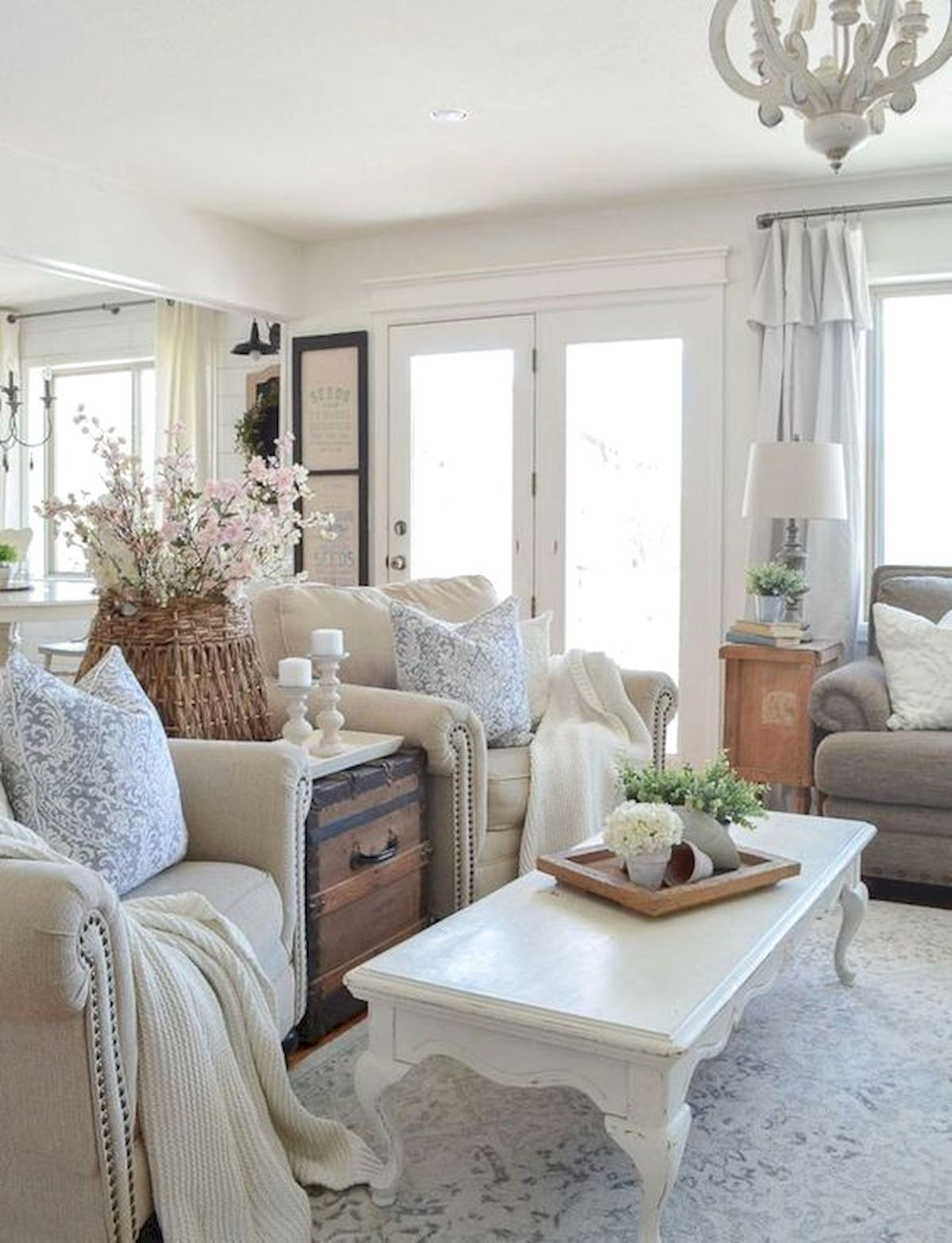 100 Best Farmhouse Living Room Decor Ideas French Country Living