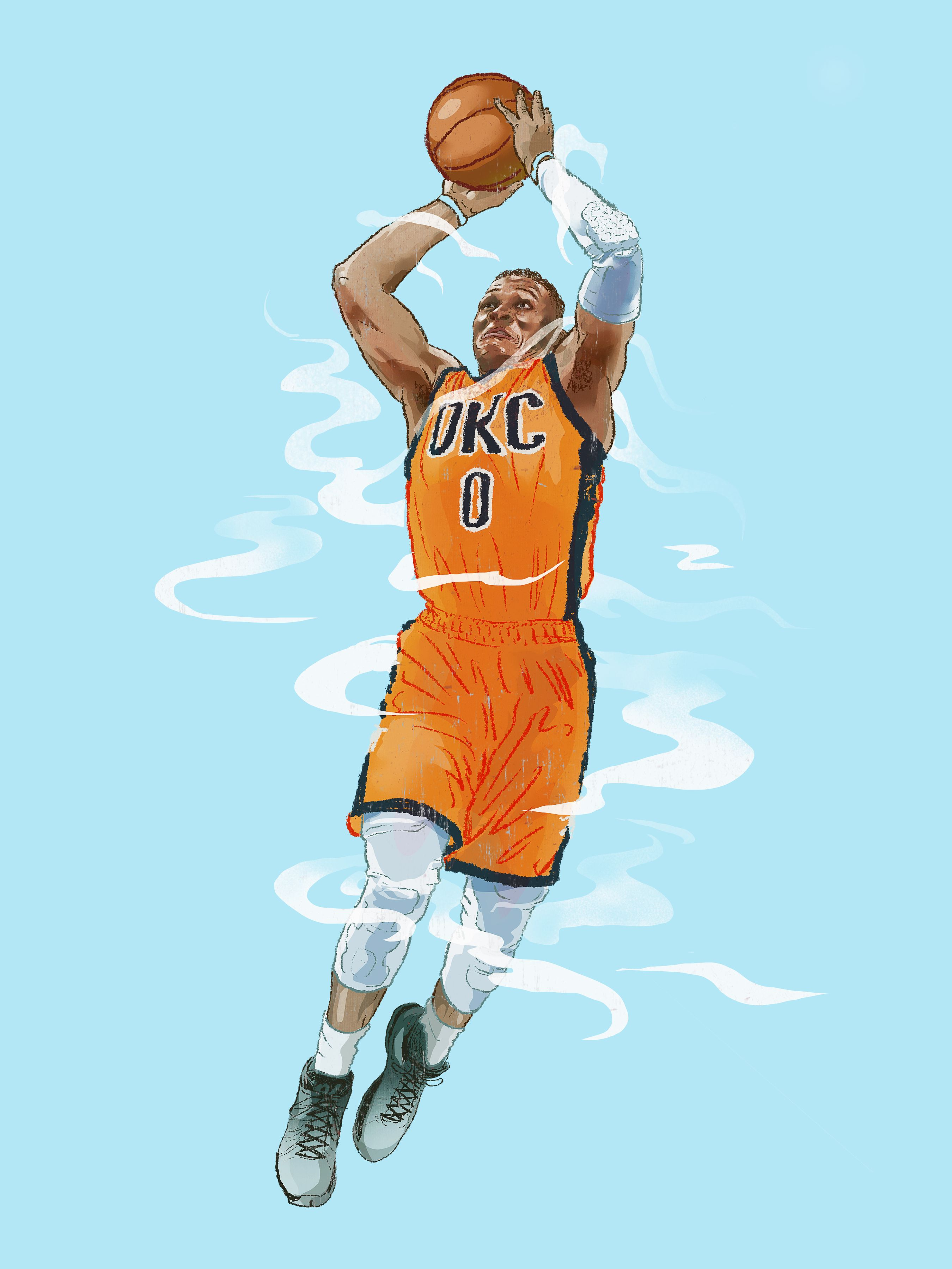 YuMing Huang NBA Pinterest NBA, Russell westbrook