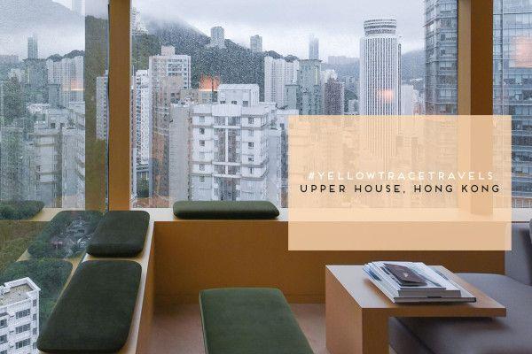 #YellowtraceTravels: The Upper House Hong Kong. Photo Nick Hughes .