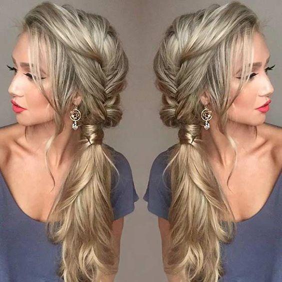 Des coiffures pour des cheveux magnifiques