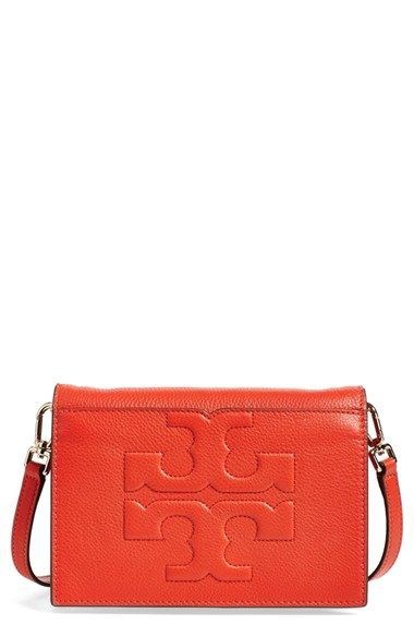 fe546b90d Tory Burch 'Bombe T' Leather Convertible Crossbody Bag available at  #Nordstrom