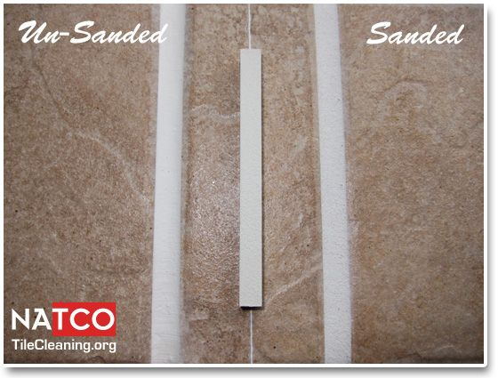 Bright White Sanded And Unsanded Grout Colors Sanded Vs