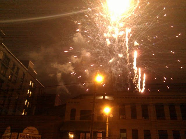 "Thanksgiving Fireworks in Scranton by ""The Scrantonite"""