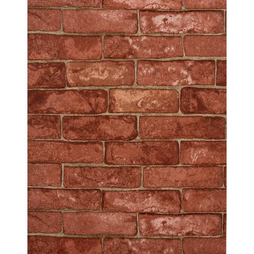 Modern Rustic Cement Tan And Light Red Wallpaper York Wallcoverings Wallpaper Wall Decor H