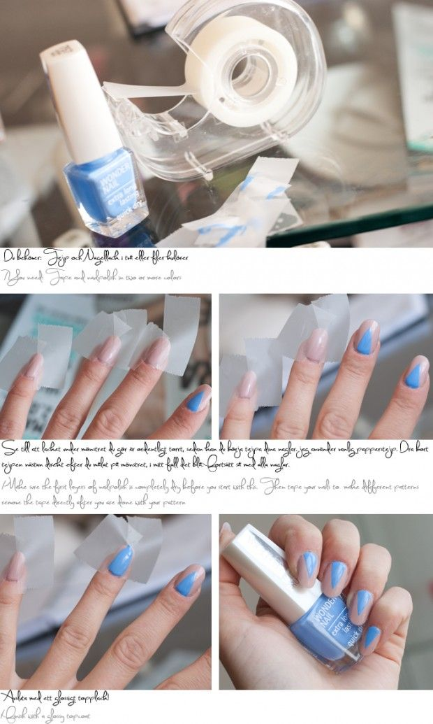 38 Interesting Nail Art Tutorials Nail Art Community Pins