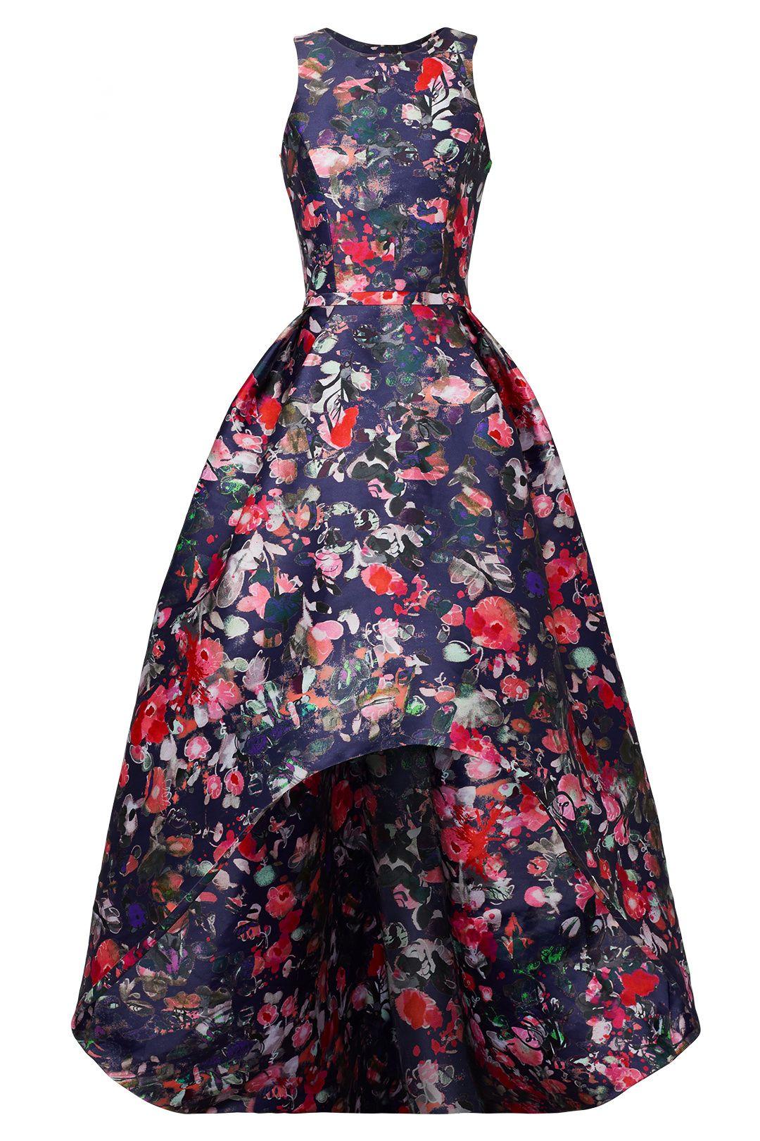 Floral Jadore Gown by ML Monique Lhuillier | Dresses + Gowns {Long ...