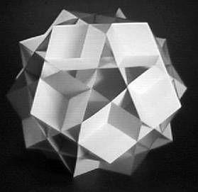 modelos 3d para armar en papel origami kirigami and patterns. Black Bedroom Furniture Sets. Home Design Ideas