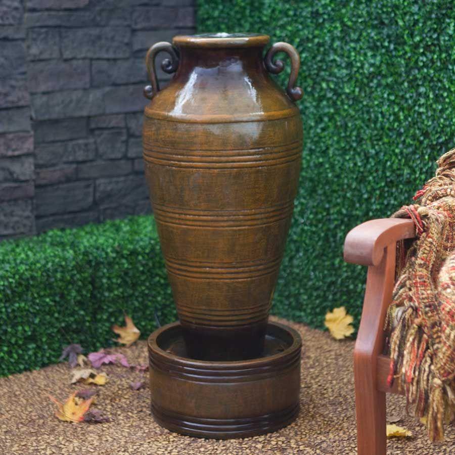 love this urn fountain | Fountain ✿✿ | Pinterest | Fountain, Urn ...