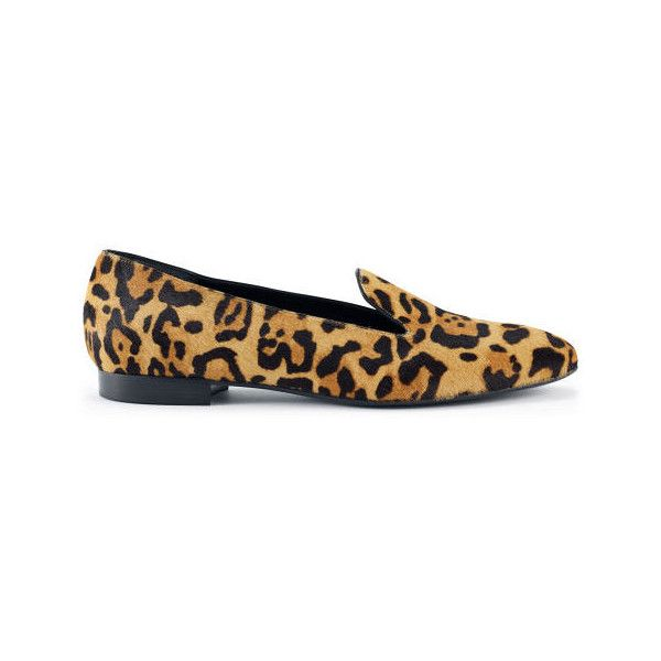 Ralph Lauren Collection Leopard Haircalf Loafer ($625) via Polyvore
