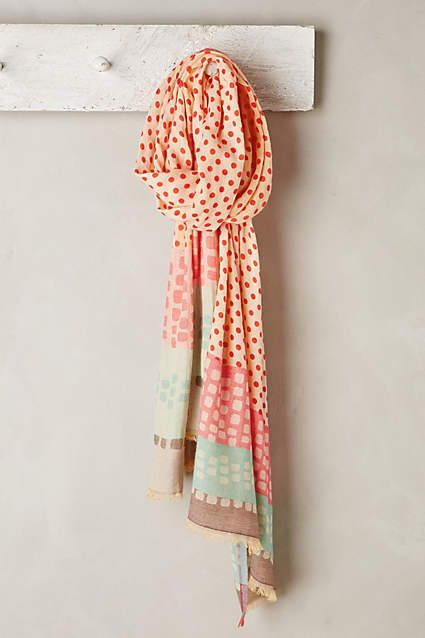 Dotted Noko Scarf - anthropologie.com