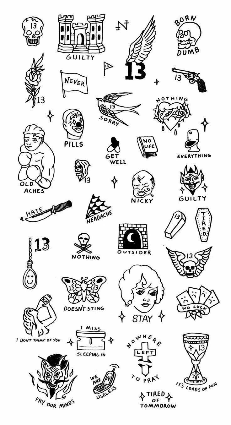 Tattoo friday the 13th tattoos