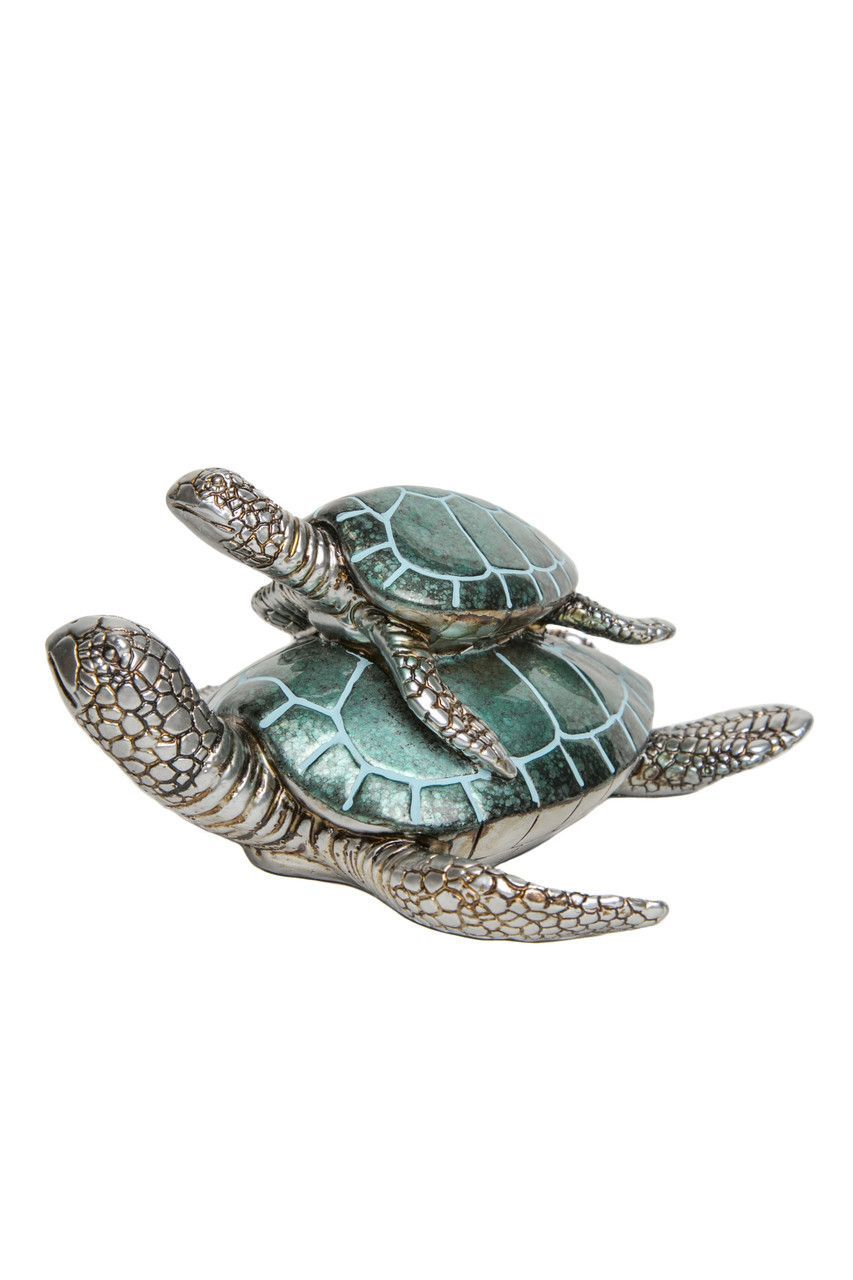 Home interior endangered species interior illusions plus blue turtle and baby turtle  beachy