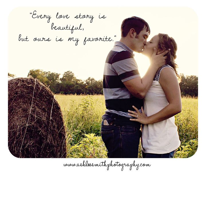 country engagement quote l ashlee smith photography l