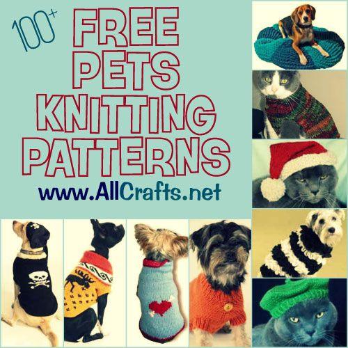 P100 Free Pets Knitting Patternsp Great Free Knitting