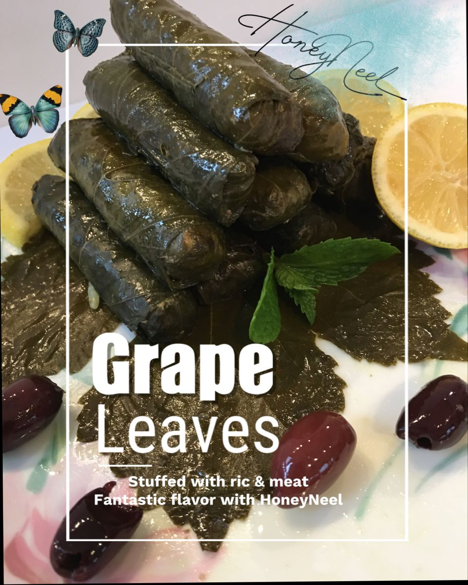 Healthy Tasty Recipe Yummy Recipe Of Grape Leaves With Rice Meat Delicious Healthy Recipes Grape Leaves Grapes