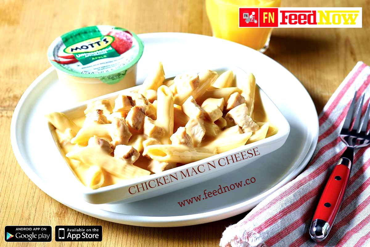 Want to try a yummilicious dish of ChickenMacNCheese from