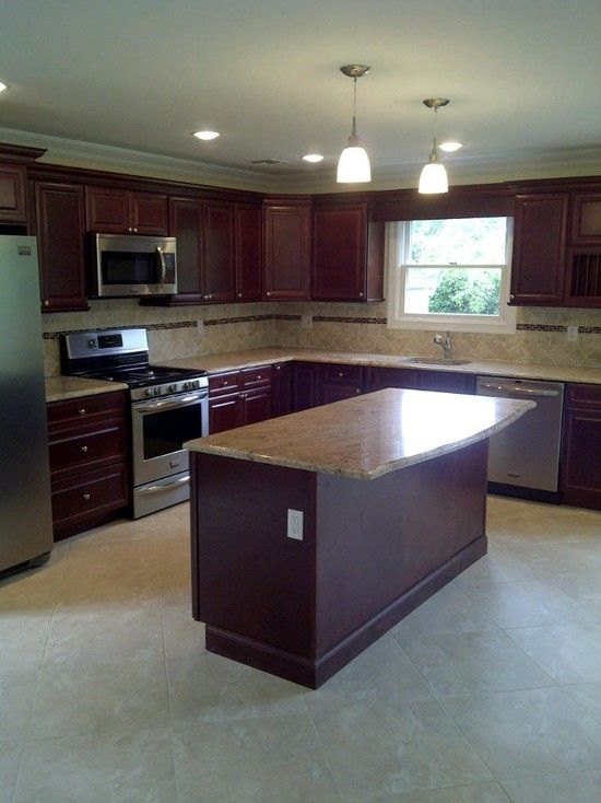 L Shaped Kitchen Design Pictures Remodel Decor And