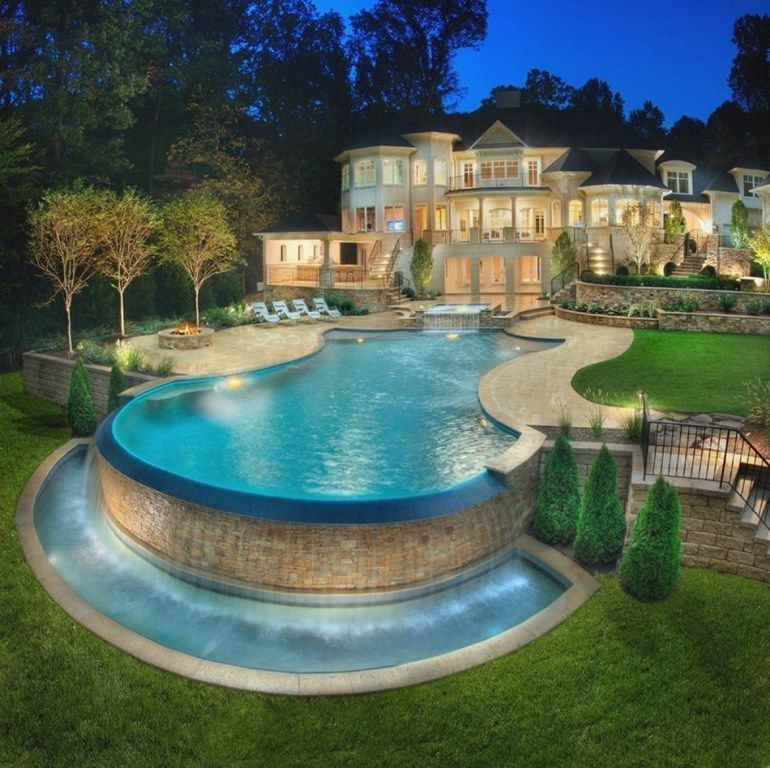 35 luxury swimming pool designs to revitalize your eyes swimming pool tips above ground - Luxury above ground pools ...
