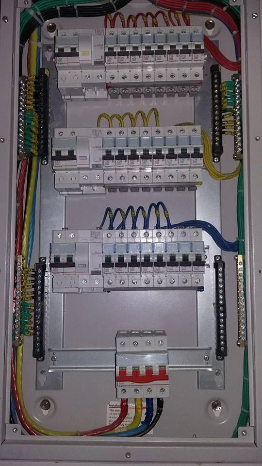 Distribution Board Wiring Diagram. | Electrical Engineering Blog ...