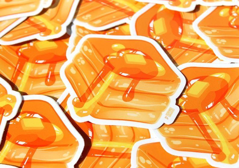 Pancake Cube Sticker   3