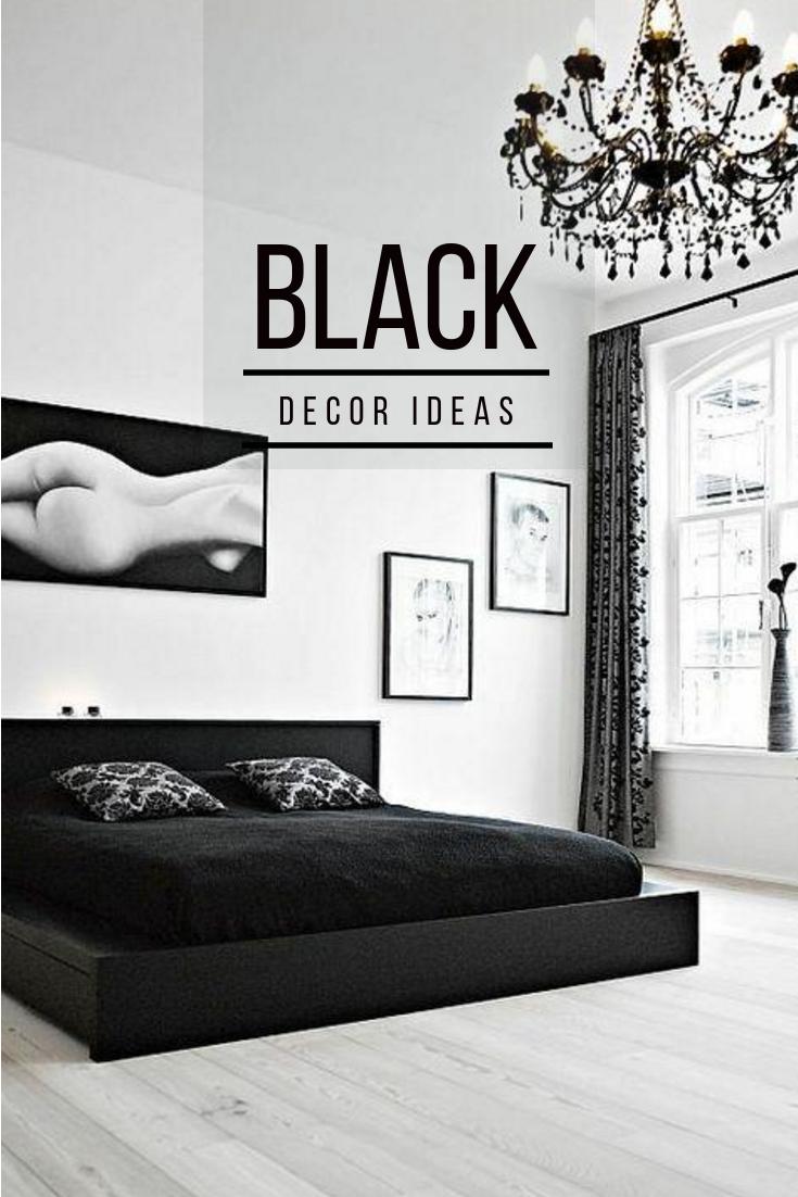 Deco Mur Salon Noir Et Blanc top 10 black interiors, décoration noir, inspiration déco