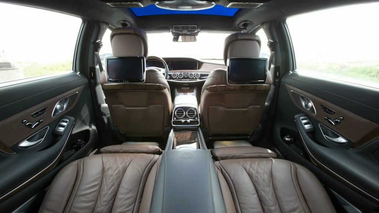 """2016 Mercedes Maybach S600 ~ Interior Dimensions """" Review """""""
