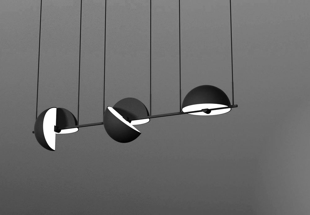 German designer Jette Scheib found inspiration from childhood visits to the circus when it came time & Trapeze Pendant by Jette Scheib for Oblure   Swedish brands ...