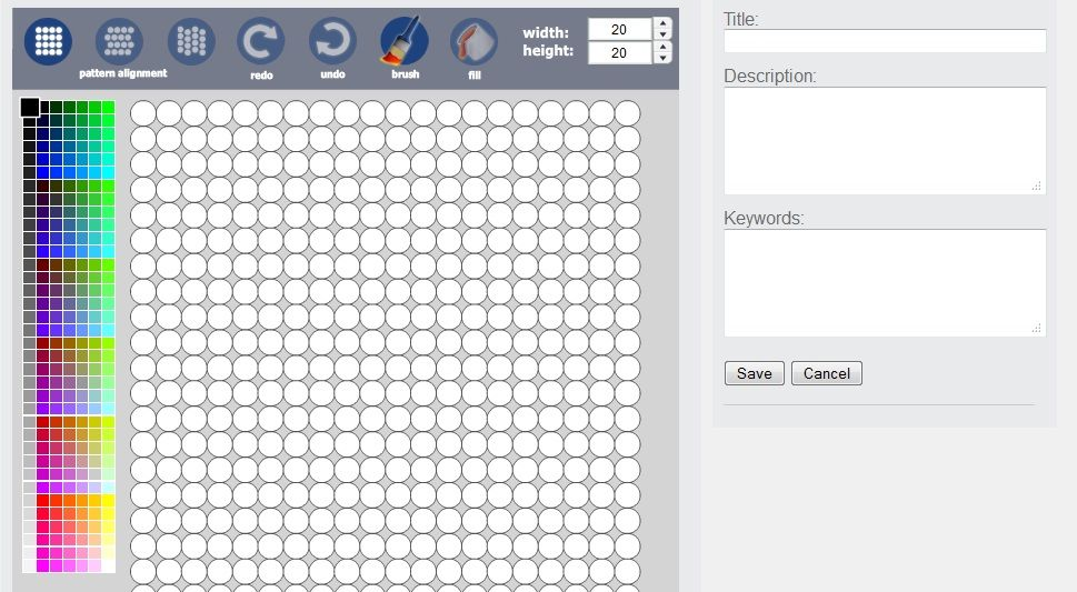 A Free Website For Making Beading Patterns Beading Patterns