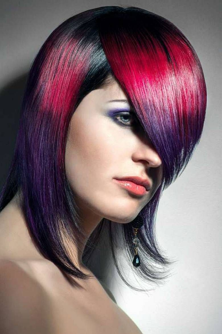 A New Trend In Hair Color Style Try To Create Your Own Color