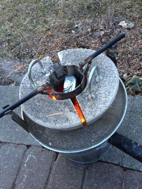 how to make the mini metal foundry good ideas pinterest metals
