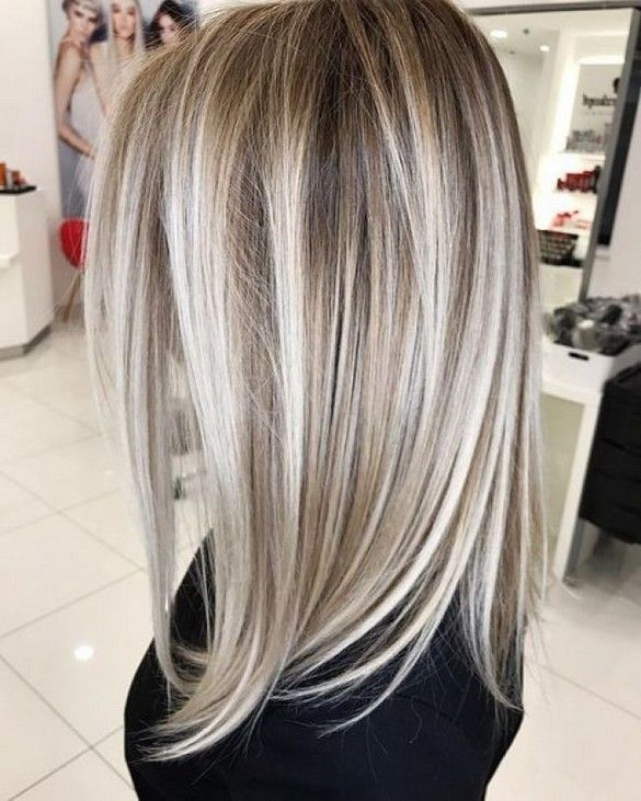 Best Of Balayage Medium Length Haircuts Hairstyles For 2019 41 Light Hair Color Hair Styles Blonde Hair Looks