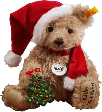 k the wohlfahrt online shop original steiff teddy santa rothenburg ob der tauber. Black Bedroom Furniture Sets. Home Design Ideas