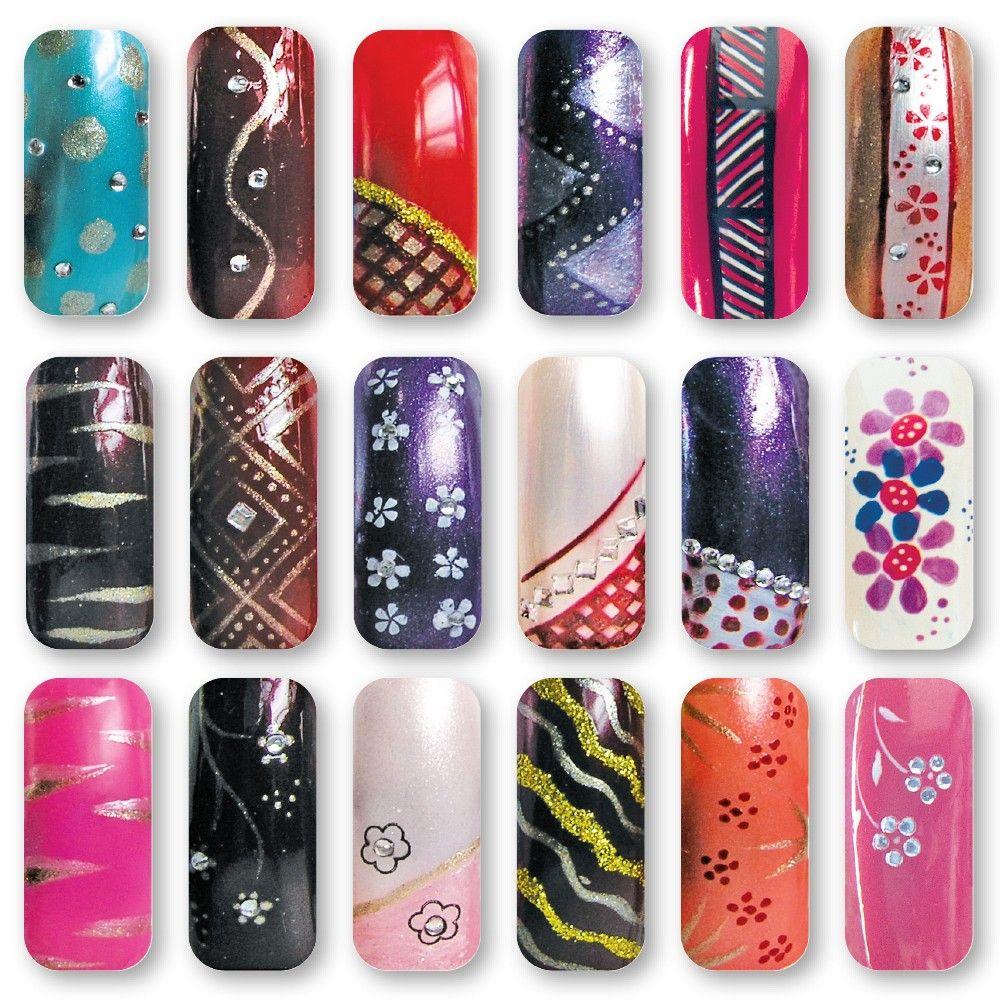 Nail Art with Nail Art Pens, Variety | Nail by Design | Pinterest ...