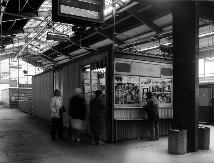Bahnhof Friedrichstrasse April 1990 Berlin Berlin Geschichte Ostberlin