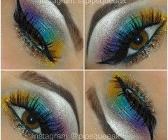 eye makeup on We Heart It