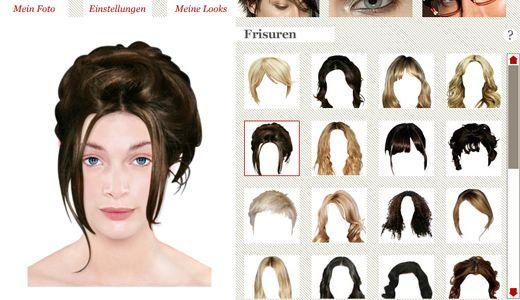 Frisur Ausprobieren Online