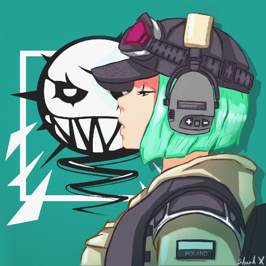 Ela fan art by ghostgamer37 rainbow six siege for Fond ecran r6