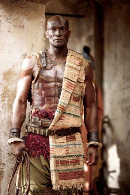 Peter Mensah Is Oenomaus The Doctore Arte Y Cine Espartaco