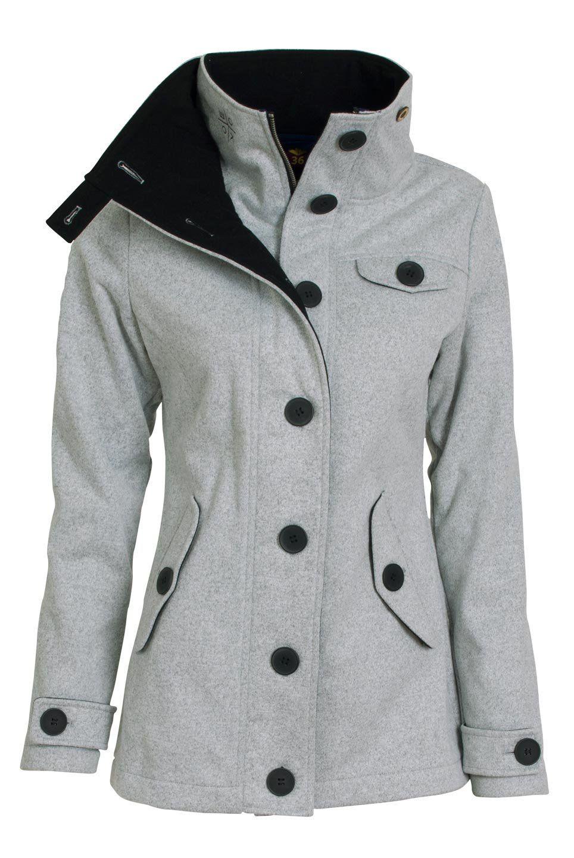 6bc975d4d4b Jarní kabát dámský Woox Woolshell Ladies  Jacket