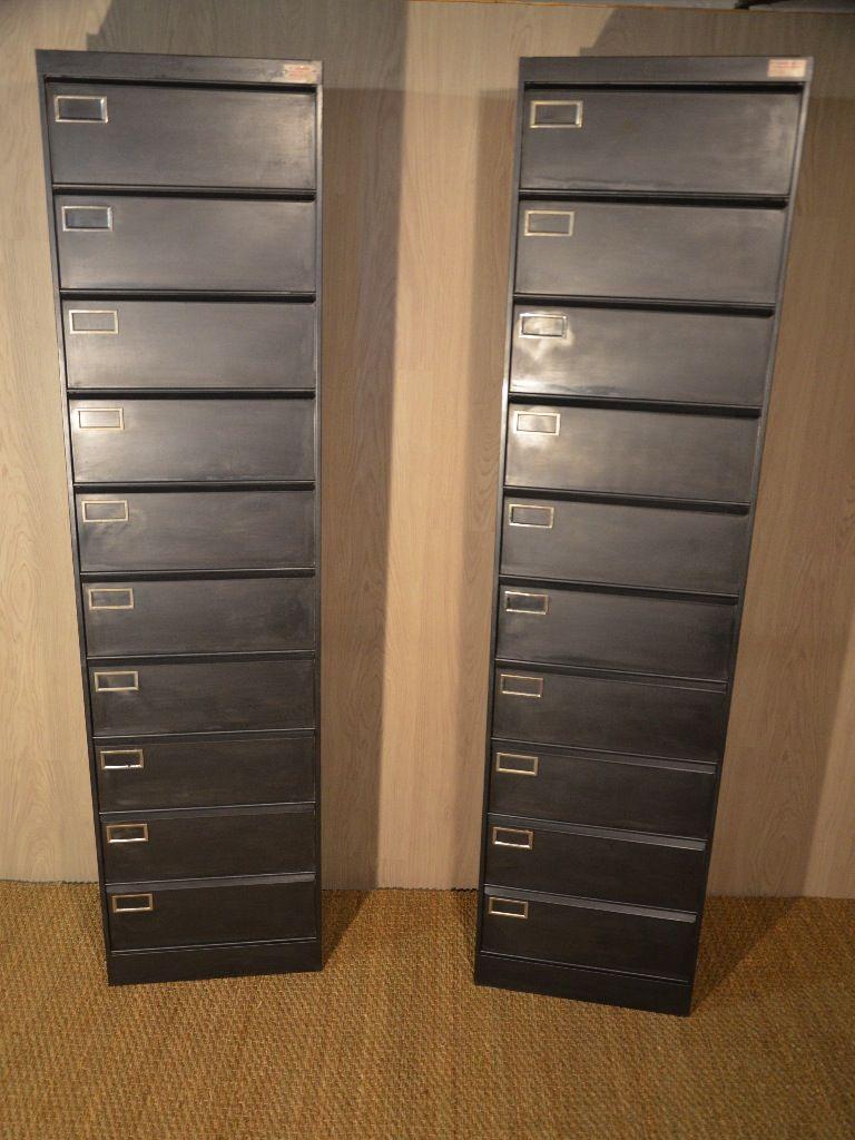 Colonnes 10 Clapets Sansen Hewel Mobilier Bureau Metal Meubles De Rangement Meuble Metal