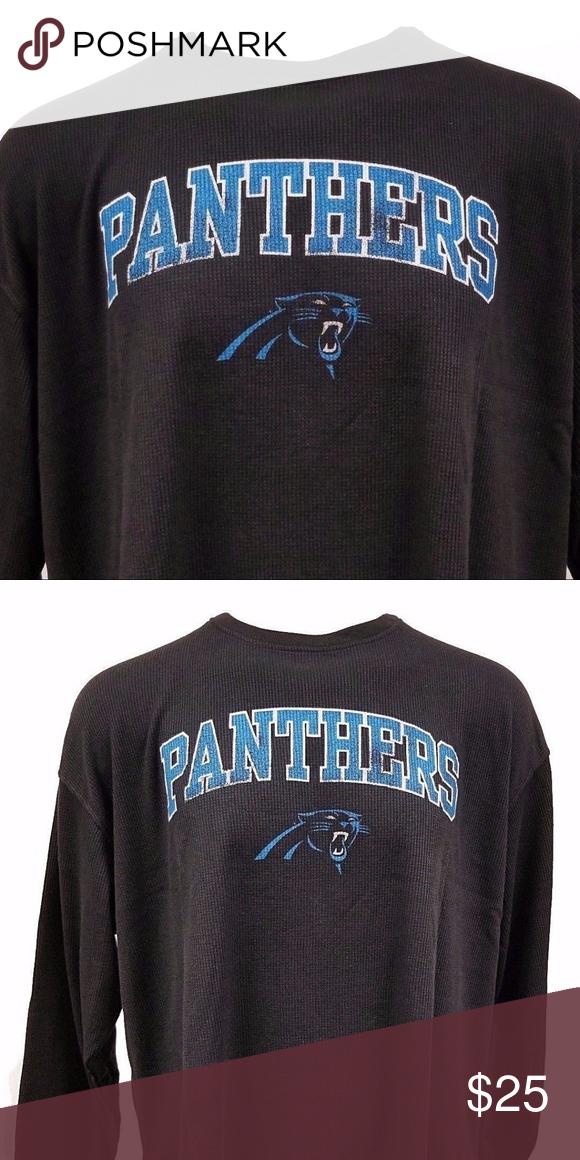 12df9e55 Carolina Panthers NFL Long Sleeve Thermal Shirt Carolina Panthers NFL Long  Sleeve Thermal Shirt Carolina Panthers