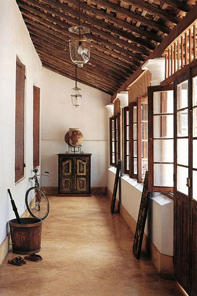 Middle Street Galle Fort Sri Lanka Colonial House Traditional House Architecture House