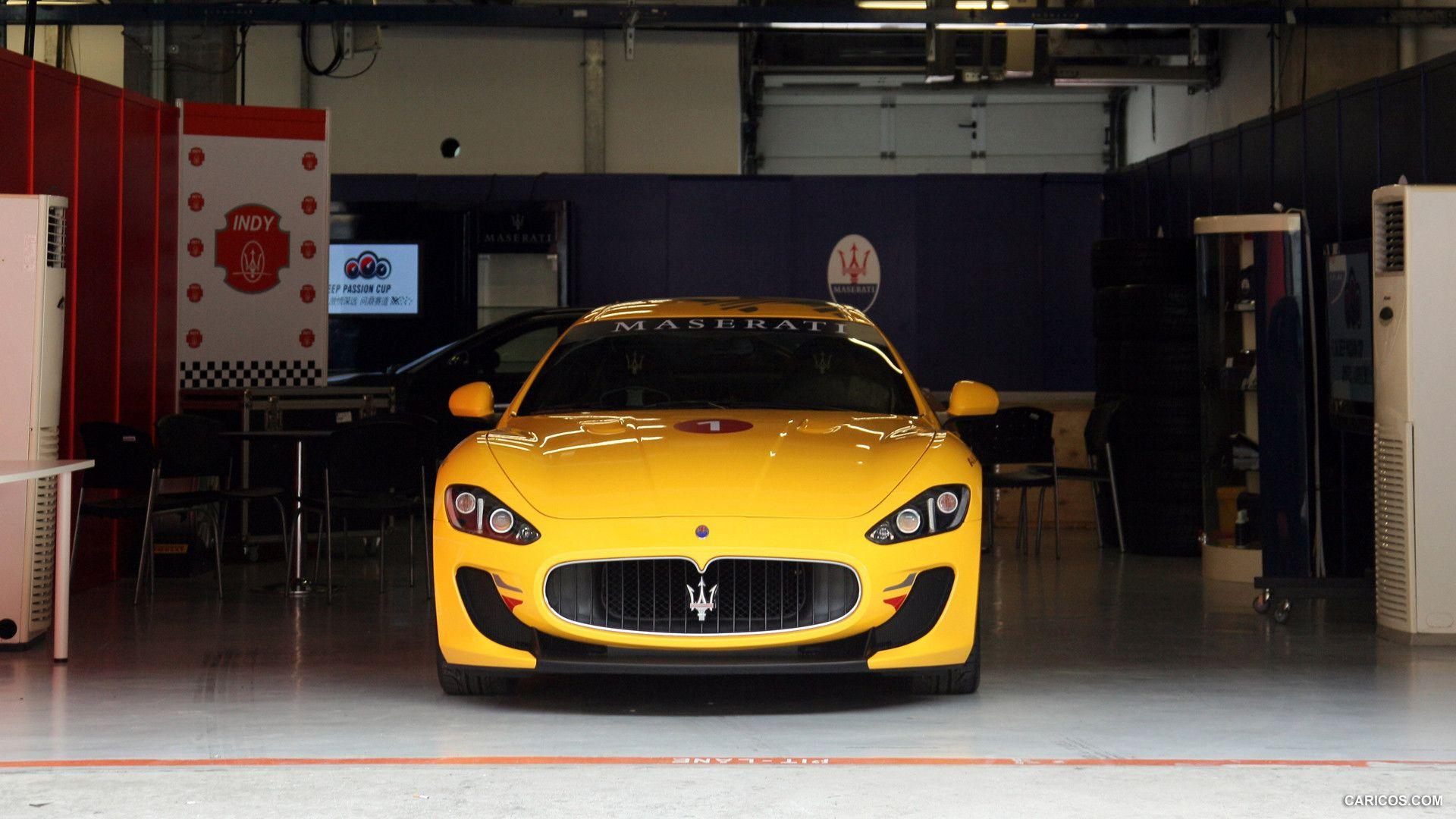 Yellow Maserati Granturismo Mc Stradale Wallpaper Hd Maserati