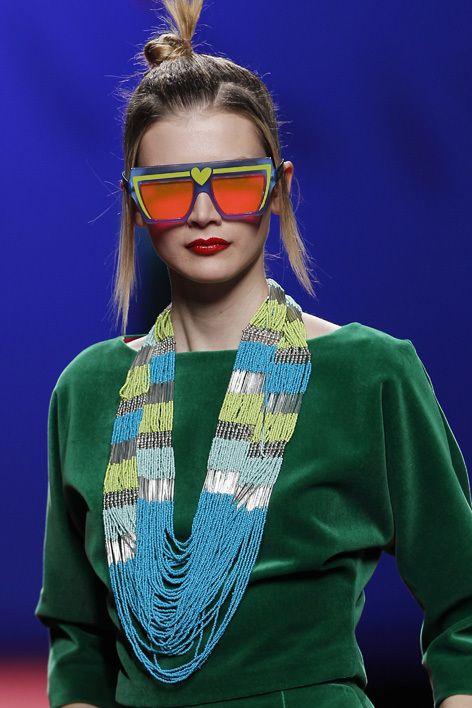 Agatha Ruiz De La Prada Madrid Aw 2011 Funky Glasses Fashion