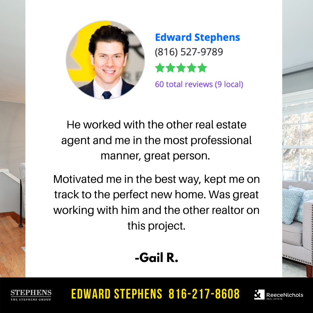 It was also superb working with you. Thanks as well for making our job easy! #TheStephensGroup #Realtor #EdwardStephens #Sold #NewHome #Home #HomeForSale #RingTheBell #NewListing #Broker #HouseHunting #MillionDollarListing #HomesForSale #ForSale #KansasCity #KCMO #Instakc #igkansascity #igkc #luxury #chiefs #Kansas #Missouri #ChiefsKingdom #MadeInKC #ChiefsNation #ReppinKC #KCRoyals #Houses #HousesofInstagram #RealEstate #Renovated #KC #KCRealtor