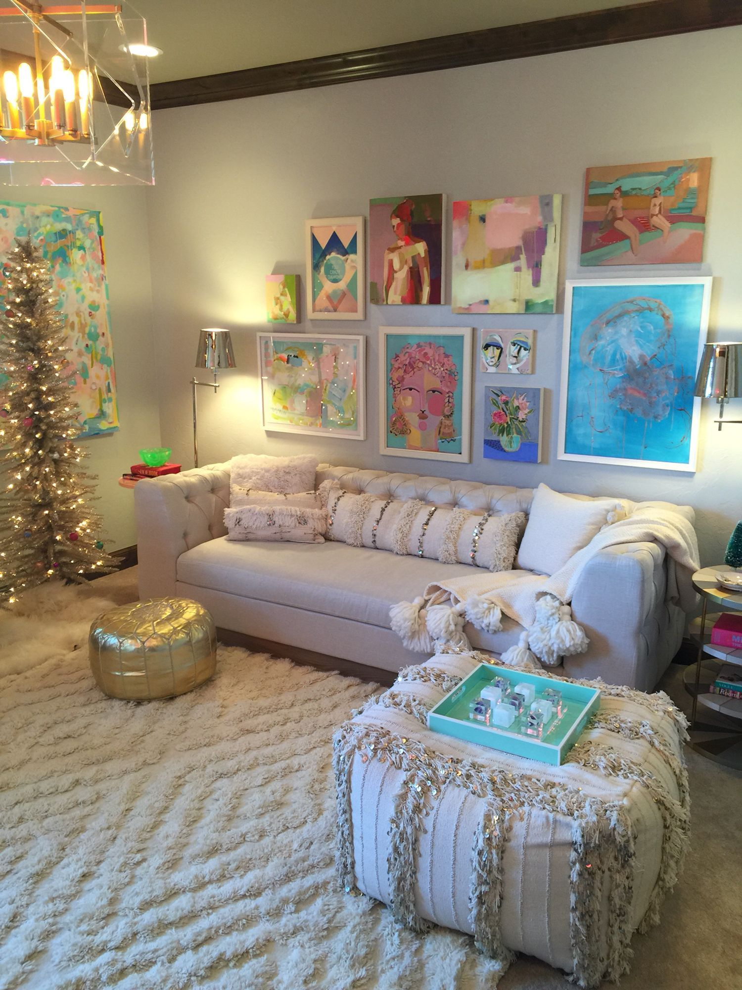 Modern Design Bohemian Living Room images
