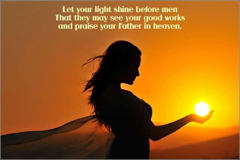 Let your light shine | Shine Your Light | Pinterest | Lights and ...