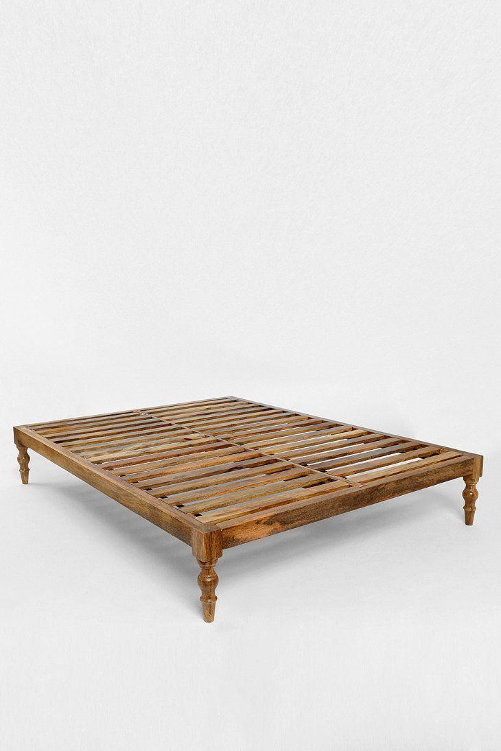 Bohemian Platform Bed House Ideas In 2019 Wooden Platform Bed