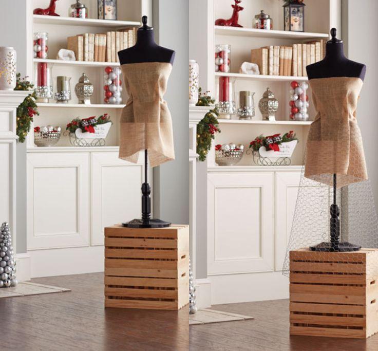 dress made of fir branches tinker wire silhouette itself  #branches #dress #itself #silhouette #tinker